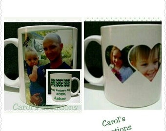 Personalized  Picture Mug for Birthday, Christmas, Mother's Day or Father's Day!