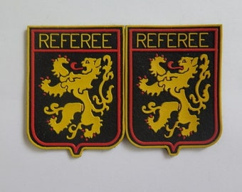Sew On Patches//Referee Patches