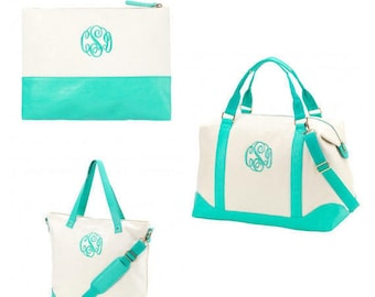 Monogrammed Sullivan WB Weekender Bag
