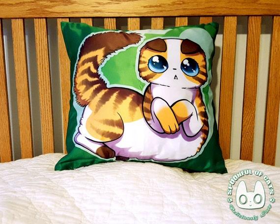 Cute Tumblr Pillows Etsy : Scottish Fold Cat Pillow Cat pillow cute Pillows cats
