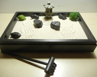 Special Small Zen Garden with Pagoda- DIY Kit