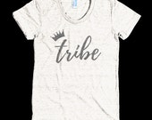 Queen of My Tribe - T-Shirt for Moms