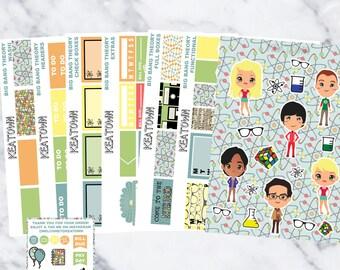 Big Bang Theory Exclusive Kit (7 Sheets)