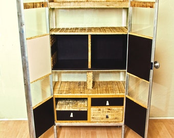 Medical cabinet - medical cupboard - Restored Cabinet - Cupboard Restoration - Medicine Cabinet - Upcycled cabinet - Recycled Furniture -