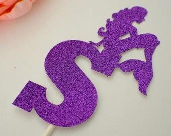 Mermaid Cake Topper, mermaid party, mermaid, mermaid name
