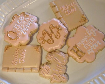 Fairy Tale Decorated Cookies