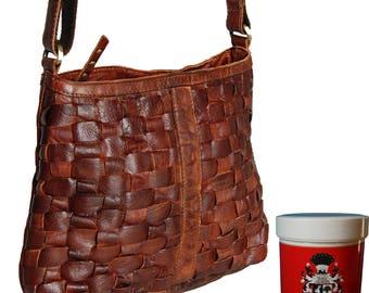 Ladies' casual bag VIENNA made of organic buffalo leather
