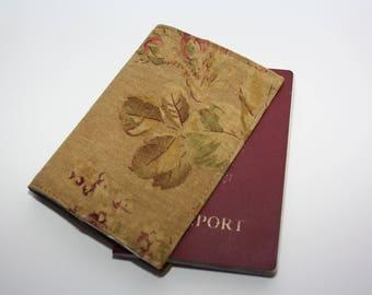 Passport Cover,Fabric Passport Case,Linnen cover,Passport wallet,Mens paspoort  ,Linen cover for passport