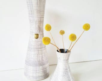 Lovely set of 2 Fohr keramik vases 60s