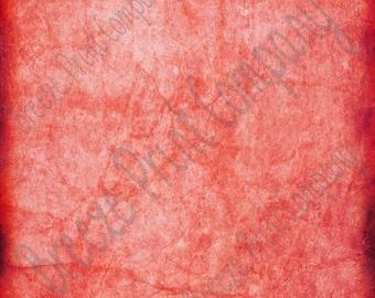 Red distressed pattern printed craft  vinyl sheet - HTV or Adhesive Vinyl -  antiqued vintage grunge HTV4704