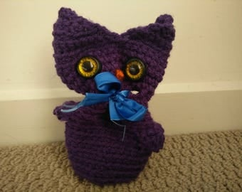 Owl Dice Bag/ Coin Purse