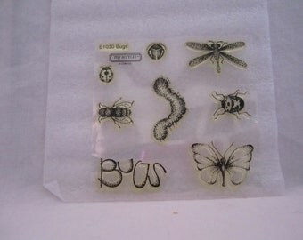 Close to my Heart B1030 Bugs Caterpillar Butterfly Lady Bug Dragonfly etc