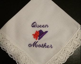 Red Hat Queen Mother Handkerchief