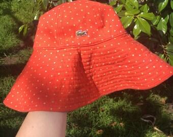 Lacoste cute reversible floppy sun hat