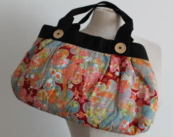 Chinese Asian Print Bag Purse