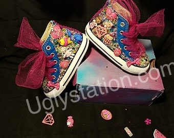 Infant and Toddler Bling Converse
