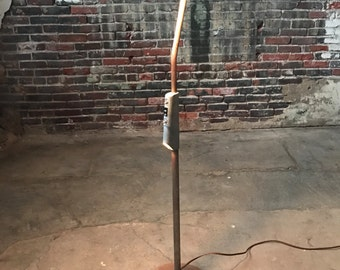 Mid Century Medical Lamp Industrial Floor Lamp Mid Century Vintage Lamp
