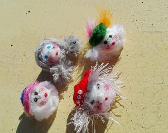 Brooch Doll is joy, happiness and love