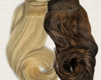 Human Hair Dreadlock Extensions - Weft Only