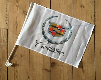 Cadillac car flag