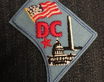 Washington District of Columbia Patch (1) - Washington DC Nation's capital government states