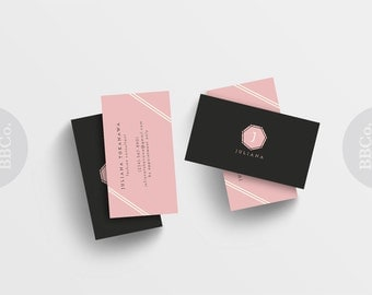 Elegant Business & calling cards: Personal Trainer, consultant, personal shopper, instructor, coach,tutor,clothing boutique,small shop