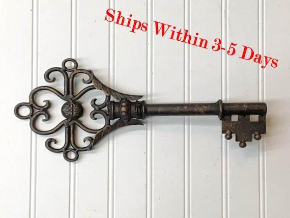 Key Wall Décor/Wall Decor/Large Key/Shabby By TheShabbyStore