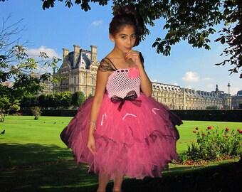 Plus Size Couture Paris Themed Tutu