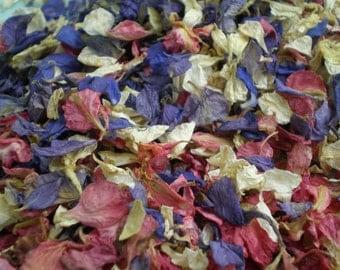 Wedding Floral confetti - Handfasting confetti - wedding potpourri - Baby shower - Engagement - wedding confetti petals