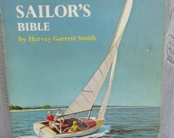The Small Boat Sailor's Bible, How to Sail a Boat Basics Manual, Hervey Garrett Smith, How to Buy a boat, Sailboat advice, 1964 boat book