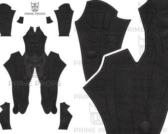 Batman Justice League Costume Pattern V2