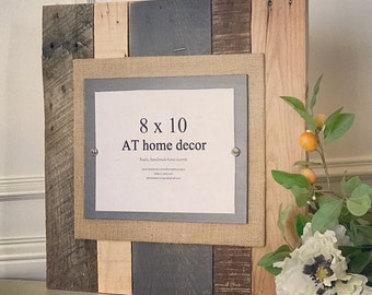 Nautical Vibe Reclaimed Wood Picture Frame