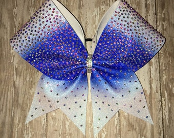 rhinestone cheer bow