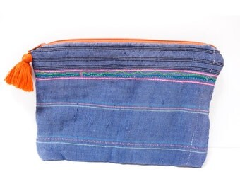 Ethnic pouch (0021) Hippie pouch Tribal pouch Pouch Ethnic Hippie Tribal Small pouch