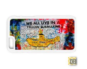 Galaxy S8 Case, S8 Plus Case, Galaxy S7 Case, Galaxy S7 Edge Case, Galaxy Note 5 Case, Galaxy S6 Case - Yellow Submarine