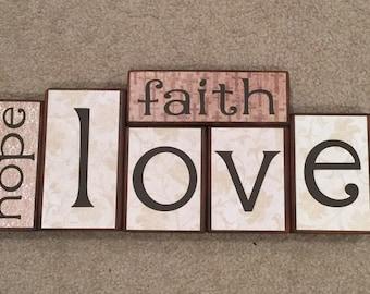 faith, hope, love - BLOCKS