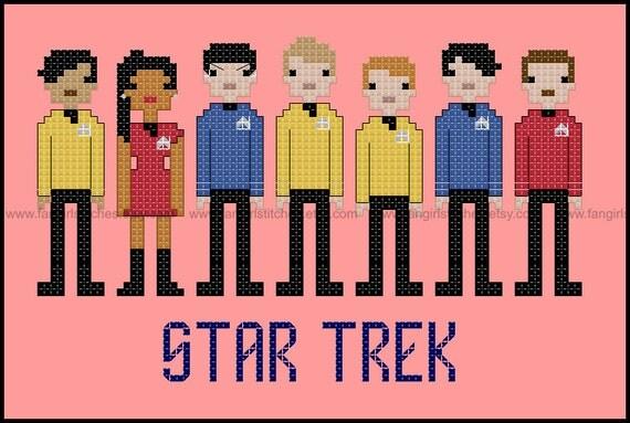 Star Trek Parody The Motion Picture Cross Stitch Pdf