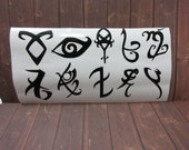 The Mortal Instruments | Shadowhunters | Choose Your Rune | Vinyl Decal Sticker