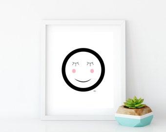 Good Night Art Print (6) Instant Digital Download