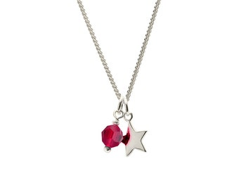 January Birthstone pendant | Garnet Birthstone Pendant | Garnet Birthstone Jewellery