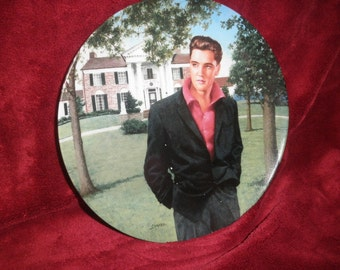 "Elvis Presley Plate  ""Graceland: Memphis, Tennesse"" 1993"