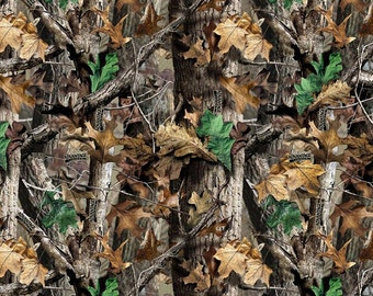RealTree Advantage by Print Concepts (6000) Cotton Camouflage Fabric
