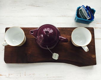 Live Edge Walnut Tea/Serving/Decorative Board