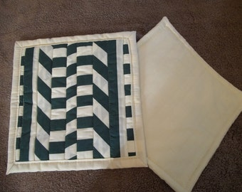 quilted hot pad