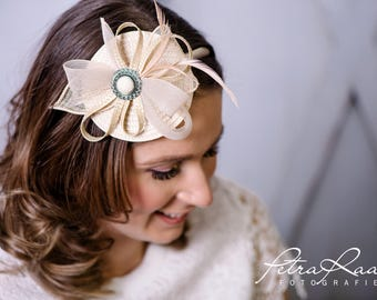 Headband Fascinator royal has bridal Hat bridal hair jewelry wedding wedding bridal has Z7