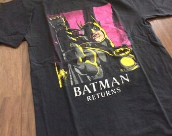 Vintage Batman Returns tshirt