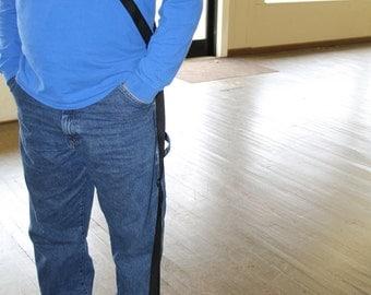 Cross Body Hands Free Leash - Adjustable
