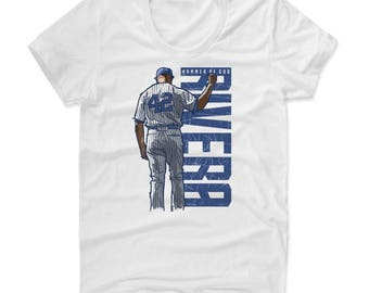 Mariano Rivera Hammer B New York Officially Licensed Women's Scoop Neck T-Shirt S-XL