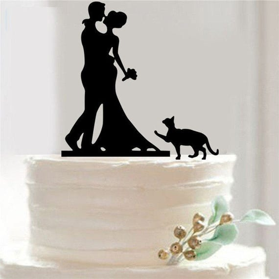 bride and groom acrylic cake stand topper wedding cake topper
