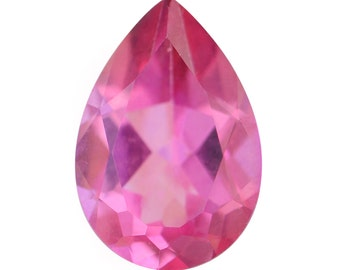 Mystic Pink Topaz Pear Cut Loose Gemstone 1A Quality 10x7mm TGW 2.10 cts.